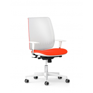 Scaun de birou ergonomic Bond Alb Antares