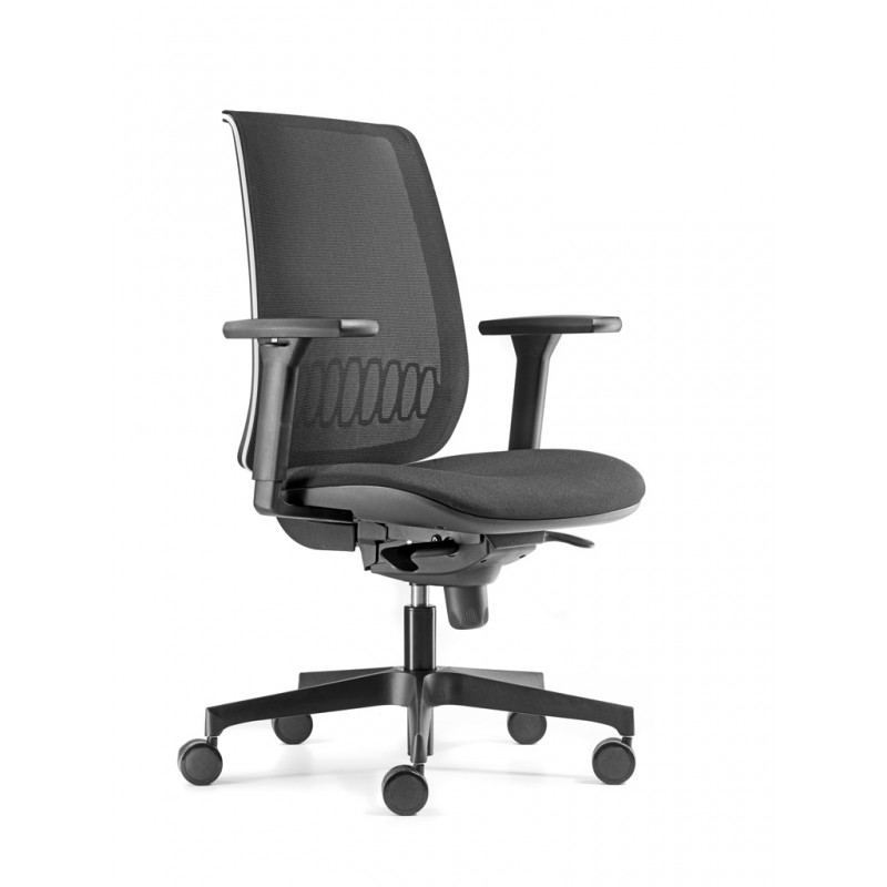 Scaun de birou ergonomic Bond Negru Antares