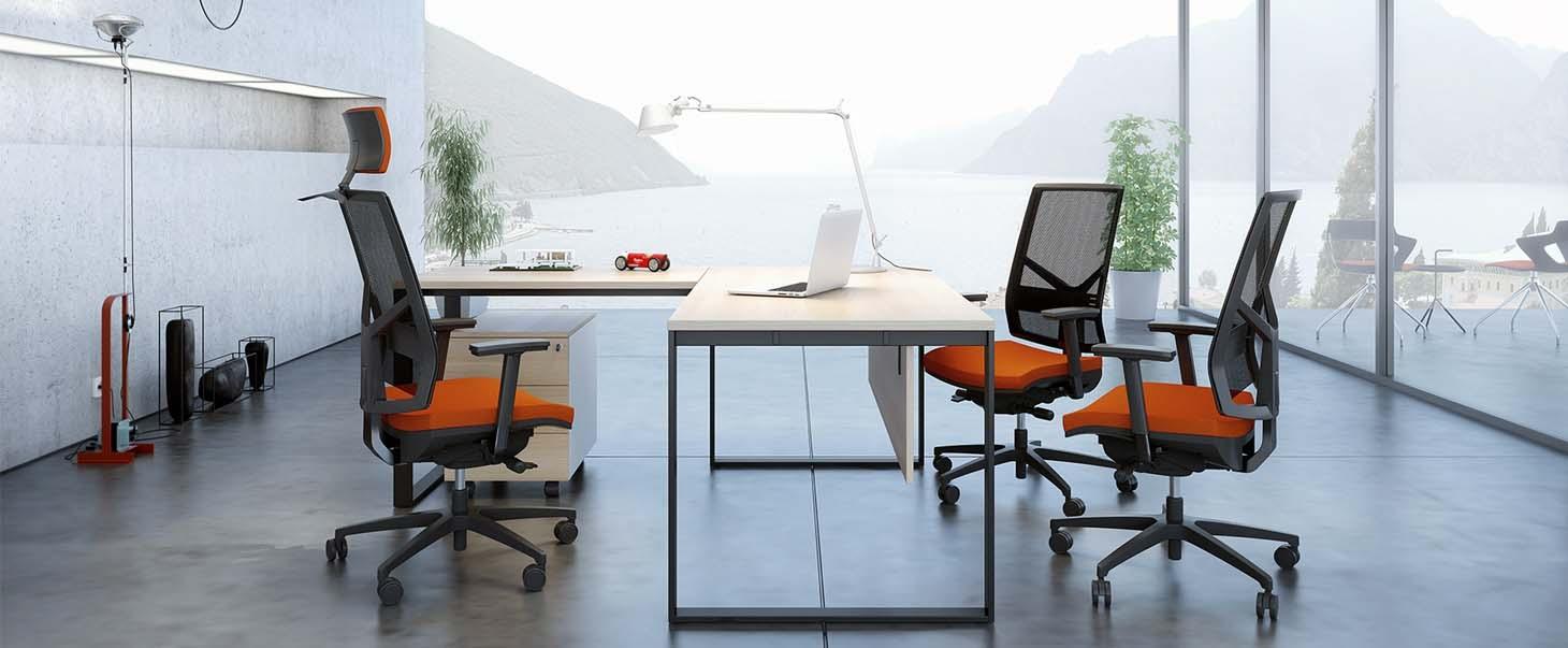 Birou cu scaune de birou Antares Omnia
