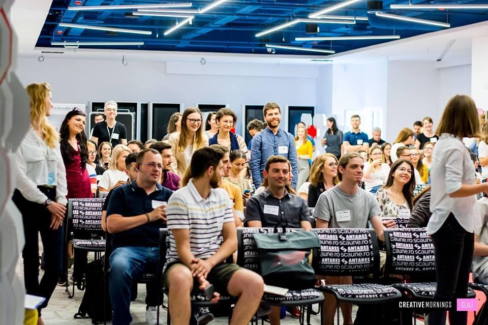 Scaune de conferinta Mars la Creative Monkeys Cluj