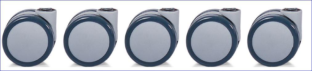 Role silicon sau gumate scaun ergonomic