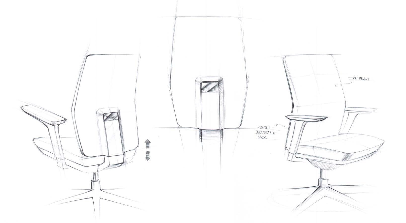 Concept scaun Tesla Antares