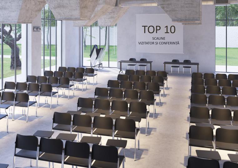 Top 10 scaune vizitator și conferință