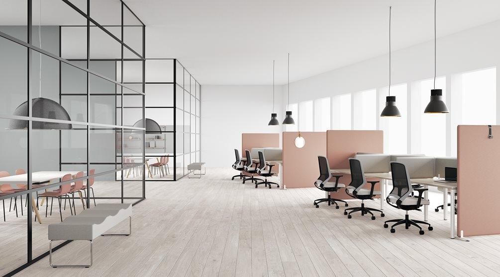 Modern office layout