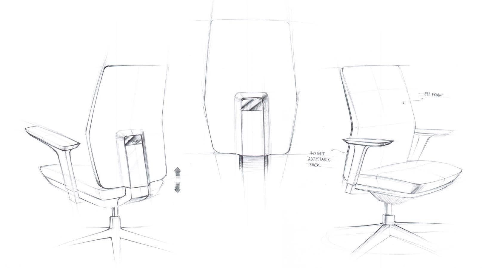 Desen-scaun-de-birou-tesla