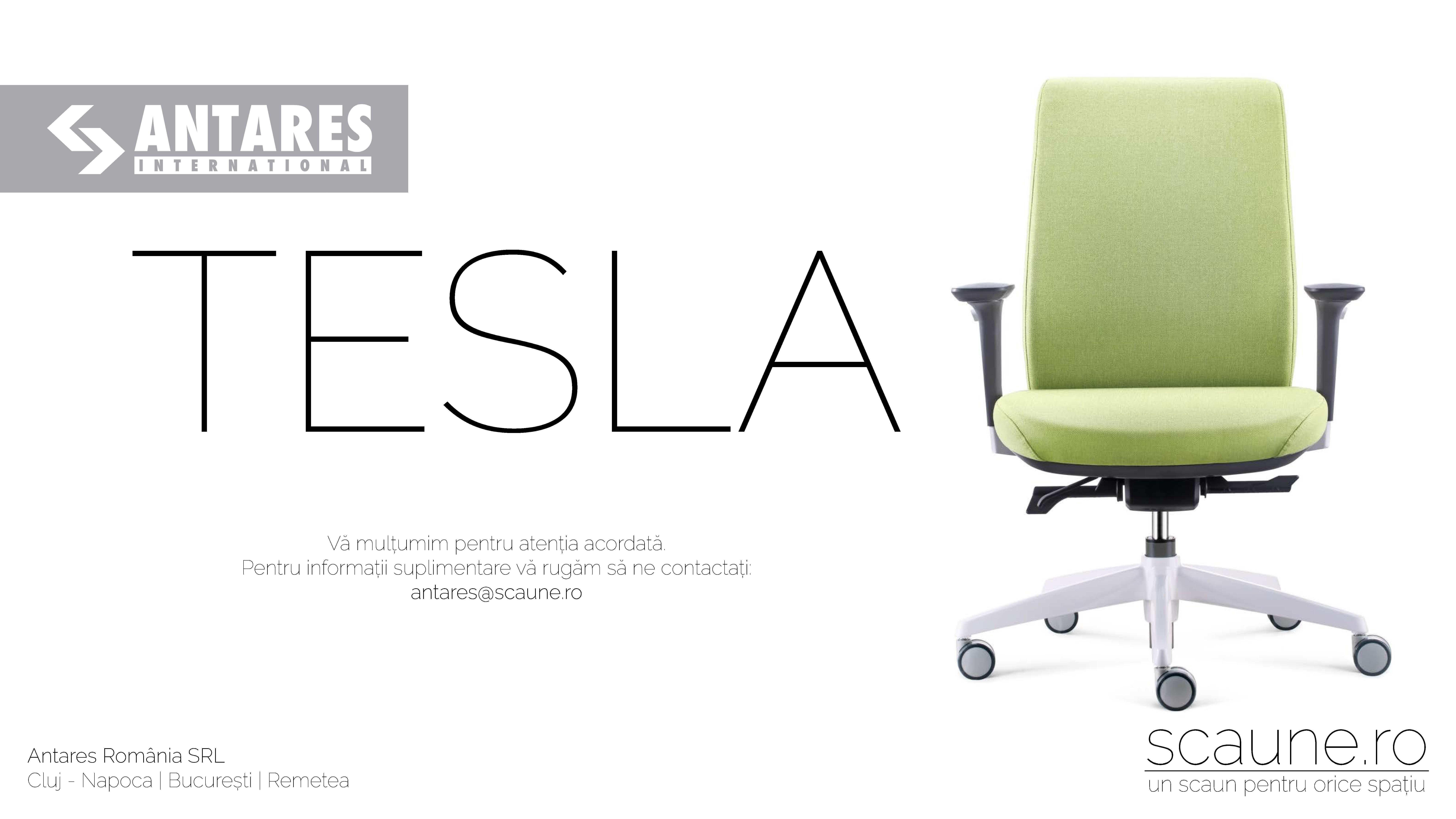Scaun ergonomic Tesla Antares