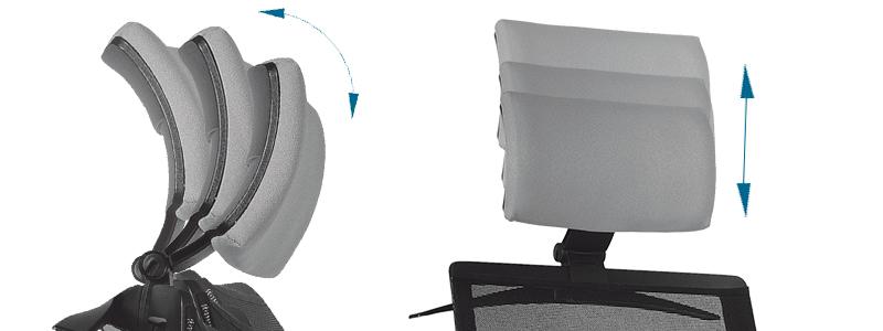 Scaun ergonomic cu tetireră reglabil