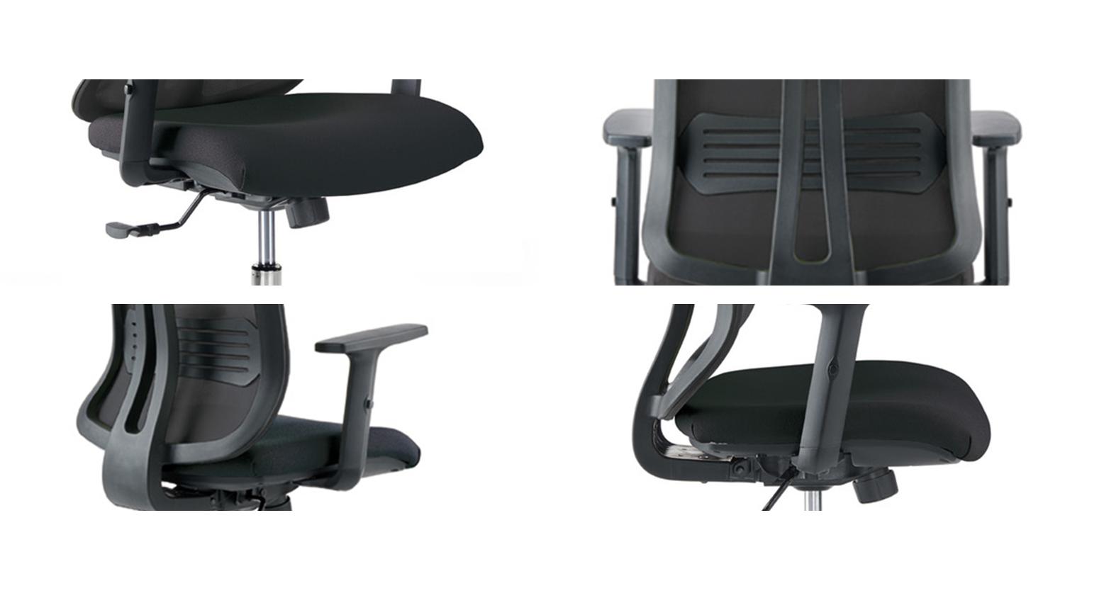 Vertigo mecanism, brate, suport lombar, translație șezut